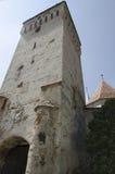 教会筑堡垒于的mosna 免版税图库摄影