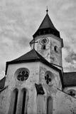 教会筑堡垒于的prehmer罗马尼亚 库存照片