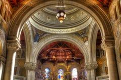 教会纪念品斯坦福 免版税库存照片