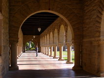 教会纪念斯坦福大学 免版税库存照片