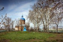 教会纪念碑 库存照片