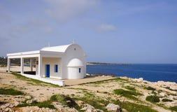 教会经典希腊 库存照片