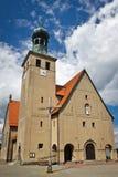 教会经典老波兰 免版税库存照片
