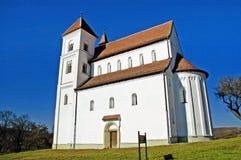 教会罗马式 免版税库存图片