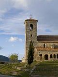 教会罗马式tamajon 免版税库存图片