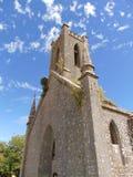 教会老塔 库存图片