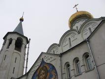 教会老莫斯科 免版税库存照片