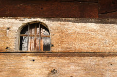 教会老视窗 库存图片