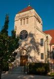 教会老都市 免版税库存图片