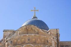 教会耶路撒冷 免版税图库摄影