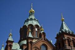 教会芬兰 库存图片