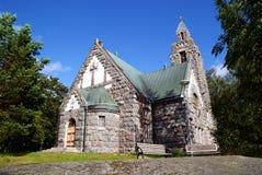 教会芬兰karuna 免版税库存照片