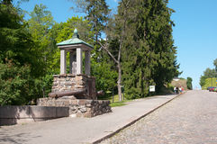 教会芬兰kirkko lappeen lappeenranta圣母玛丽亚的玛丽圣徒 日志纪念碑 库存照片