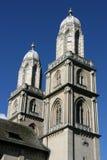教会苏黎世 免版税库存照片
