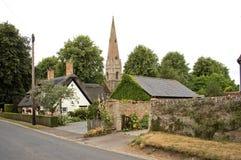 教会英国houghton磨房 免版税库存照片