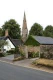教会英国houghton磨房 图库摄影