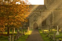 教会英国olney 免版税图库摄影