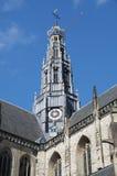 教会荷兰语尖顶 库存照片
