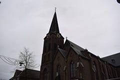 教会荷兰语老 库存照片