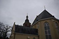 教会荷兰语老 免版税图库摄影