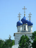 教会莫斯科 免版税库存照片
