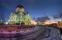教会莫斯科 免版税图库摄影