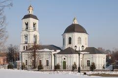 教会莫斯科tsaritsino 库存图片