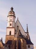 教会莱比锡圣托马斯 免版税库存图片