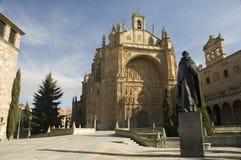 教会萨拉曼卡西班牙 库存图片