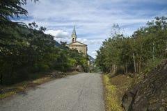 教会葡萄 图库摄影
