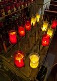 教会蜡烛 免版税库存照片