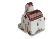 教会被手工造的纪念品  免版税库存照片