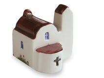 教会被手工造的纪念品  库存照片
