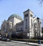 教会西南看法  免版税图库摄影