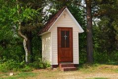 教会西部小的乌克兰 免版税库存照片