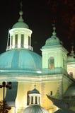 教会覆以圆顶el franciso重创的马德里圣 免版税图库摄影