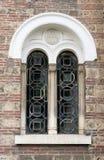 教会视窗 免版税库存照片