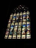 教会视窗 图库摄影