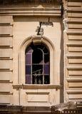 教会视窗 免版税库存图片
