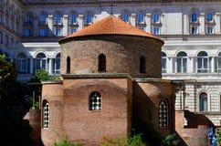 1360年教会设立了乔治的st是年的修道院vladychny serpukhov 免版税库存图片