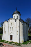 1360年教会设立了乔治的st是年的修道院vladychny serpukhov 免版税库存照片