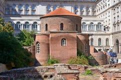 1360年教会设立了乔治的st是年的修道院vladychny serpukhov 库存照片
