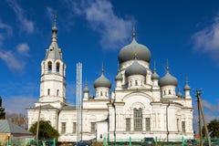 教会诞生 钓鱼者 俄国 库存图片