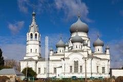 教会诞生 钓鱼者 俄国 免版税库存照片