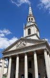 教会调遣伦敦马丁st 库存照片