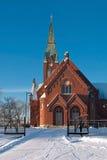 教会路德教会 库存图片