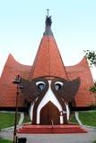 教会路德教会siofok 库存照片