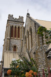 教会重点端口神圣的西班牙特立尼达 免版税库存照片