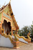 教会金黄泰国 免版税图库摄影