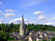 教会钟楼  免版税库存图片